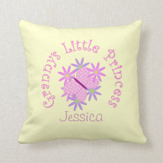Personalized: Grannys Little Princess Pillow