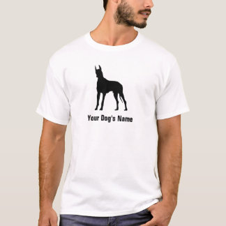 Personalized Great Dane グレート・デーン T-Shirt