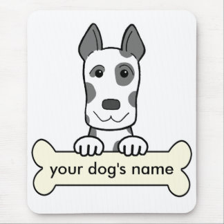 Personalized Great Dane Mouse Pad