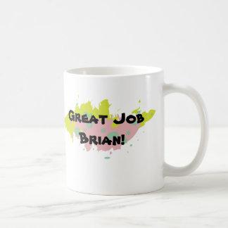 Personalized Great Job Mug (Color Scheme 3)