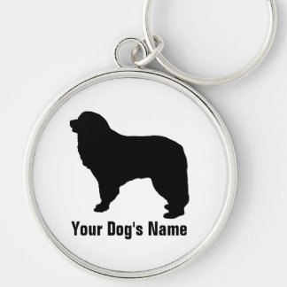 Personalized Great Pyrenees グレート・ピレニーズ Keychain