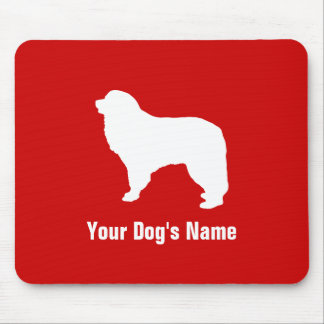 Personalized Great Pyrenees グレート・ピレニーズ Mouse Pad