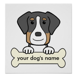 Personalized Greater Swiss Mountain Dog Print
