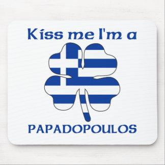 Personalized Greek Kiss Me I'm Papadopoulos Mouse Mat