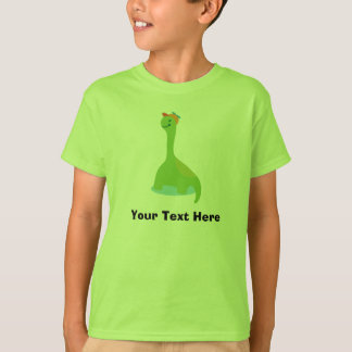 Personalized Green Dinosaur T Shirt