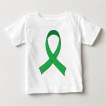 Personalized Green Ribbon Awareness Gift Baby T-Shirt
