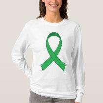 Personalized Green Ribbon Awareness Gift T-Shirt