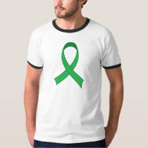 Personalized Green Ribbon Awareness Gift T-Shirt