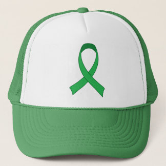 Personalized Green Ribbon Awareness Gift Trucker Hat