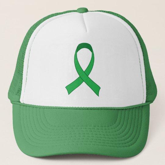 Personalized Green Ribbon Awareness Gift Trucker Hat