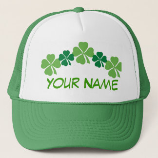 Personalized Green St Patricks Day Hat