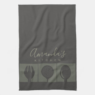 Gourmet Chef Kitchen & Hand Towels | Zazzle