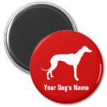 Personalized Greyhound グレイハウンド Refrigerator Magnets