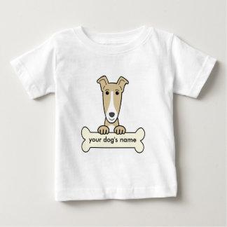 Personalized Greyhound Baby T-Shirt