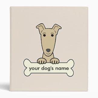 Personalized Greyhound Binder