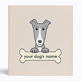 Personalized Greyhound Binders