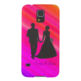 Personalized Groom and Bride Samsung Galaxy S5 Galaxy S5 Case