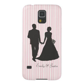 Personalized Groom and Bride Samsung Galaxy S5 Galaxy S5 Cover