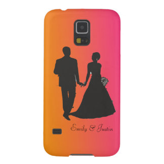 Personalized Groom and Bride Samsung Galaxy S5 Galaxy S5 Covers