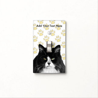 Personalized Grumpy Cat Light Switch Cover
