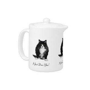 Personalized Grumpy Cat Teapot at Zazzle