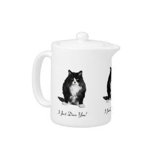 Personalized Grumpy Cat Teapot