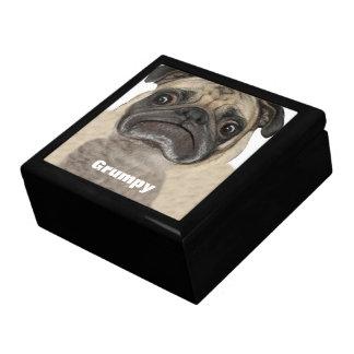 Personalized Grumpy Puggy Gift Box