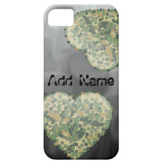 Personalized Grunge Heart iPhone 5 Case