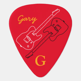 personalized guitar-pick for the guitar-man