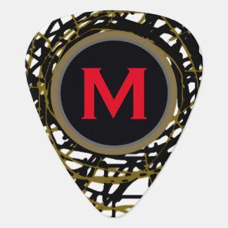 personalized guitar-pick for the guitarman guitar pick