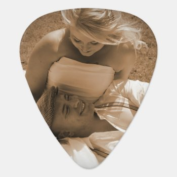 Personalized Guitar Picks For Wedding Favors by red_dress at Zazzle