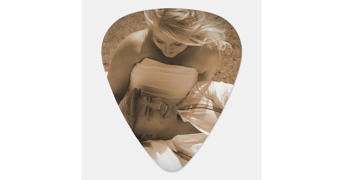 Personalized Guitar Picks For Wedding Favors Zazzle