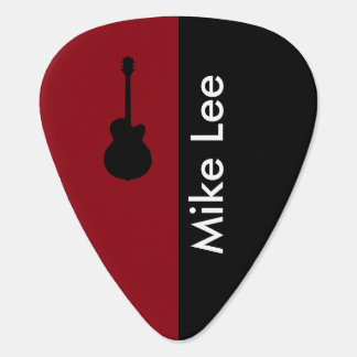personalized guitar star guitar pick