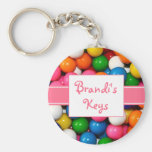 Personalized Gumballs Keychain