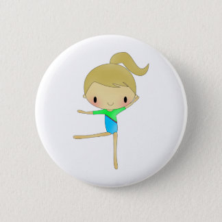 Personalized Gymnastics accessories Pinback Button