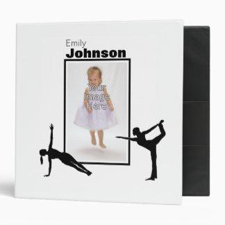 Personalized Gymnastics Binder