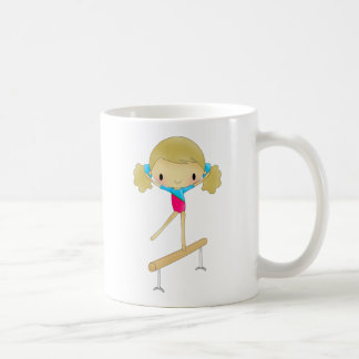 Personalized Gymnastics gifts and accessories Classic White Coffee Mug