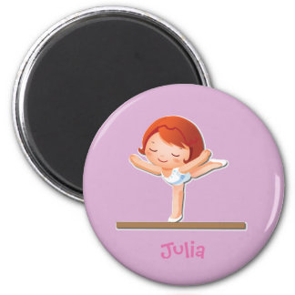 Personalized Gymnastics Gifts Magnet