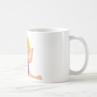 Personalized Gymnastics Girl Gifts Coffee Mug