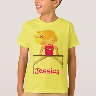 Personalized GYMNASTICS Girl Shirts