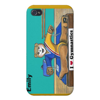 Personalized Gymnastics iPhone4 Case