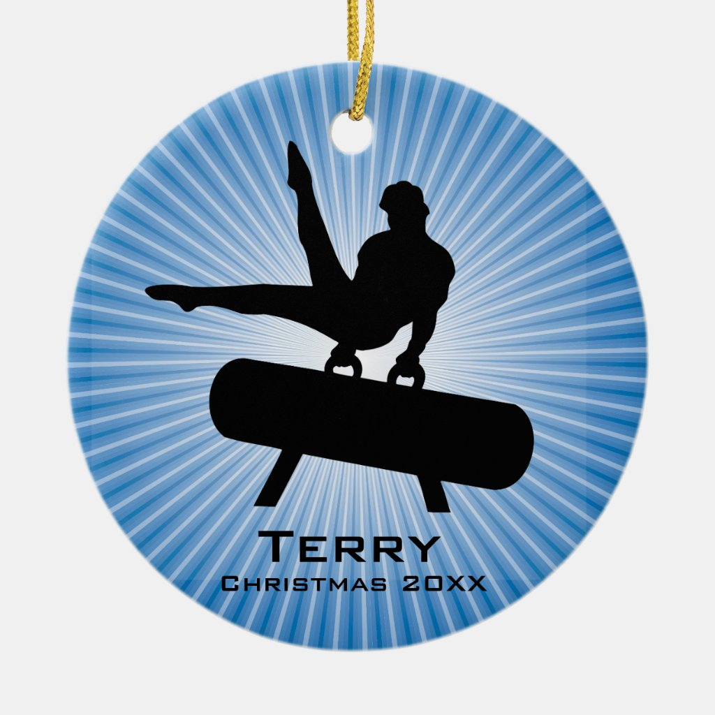 Personalized Gymnastics Ornament