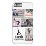 Personalized Gymnastics Photo Collage Name Year Barely There iPhone 6 Case