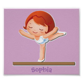 Personalized Gymnastics Posters