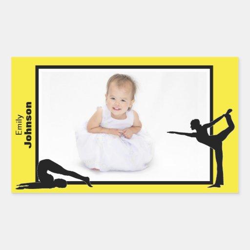 Personalized Gymnastics Stickers
