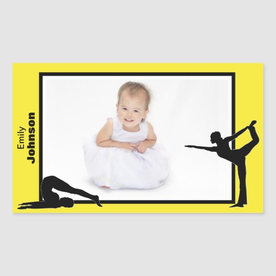 Personalized Gymnastics Stickers