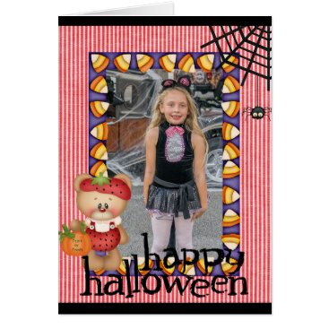Halloween Themed Personalized Halloween Add Photo Card
