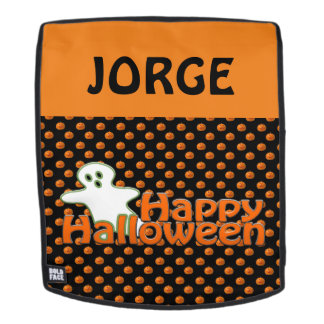 Personalized Halloween Backpack Faceplate