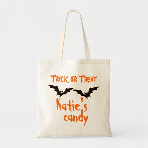 Halloween Candy Bags Personalized