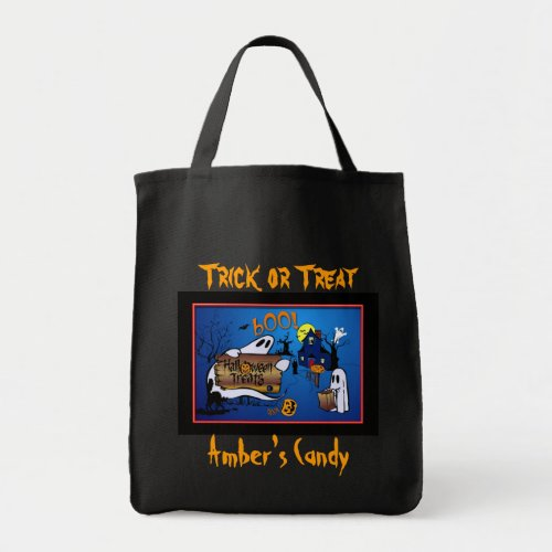 Personalized Halloween Candy Bag